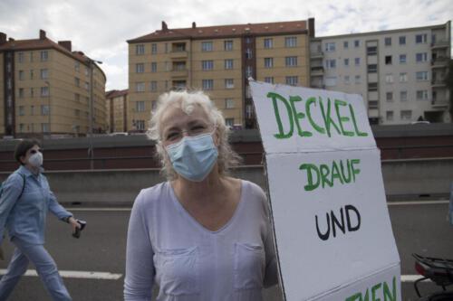 A100 Deckel-drauf-Demo